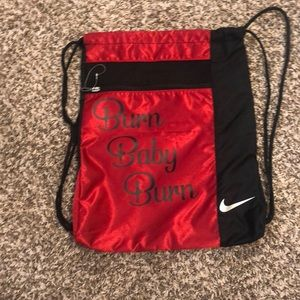 nike draw string backpack